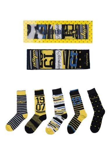Fenerbahçe Çorap Renkli